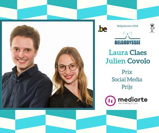 Social Media prijs ism mediarte