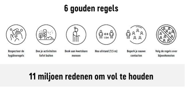 6 gouden regels