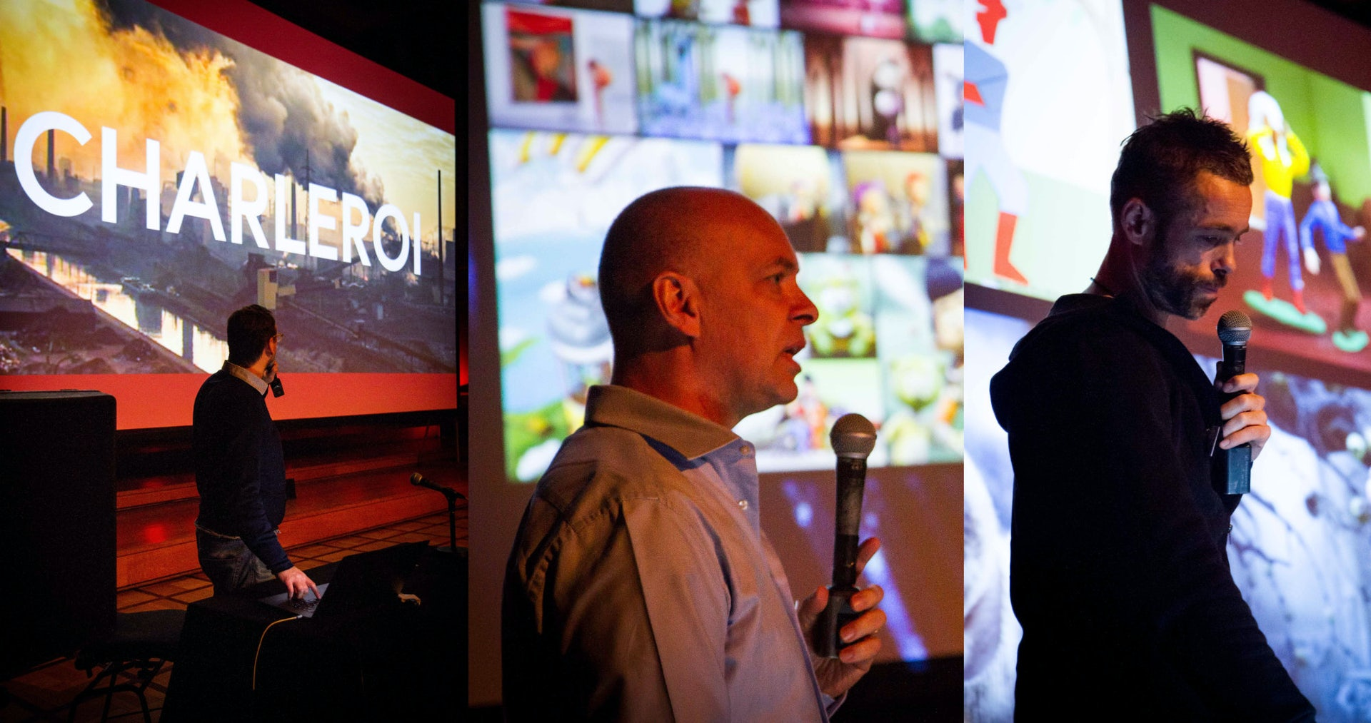 Studio presentations at the ANIMA Industry Day