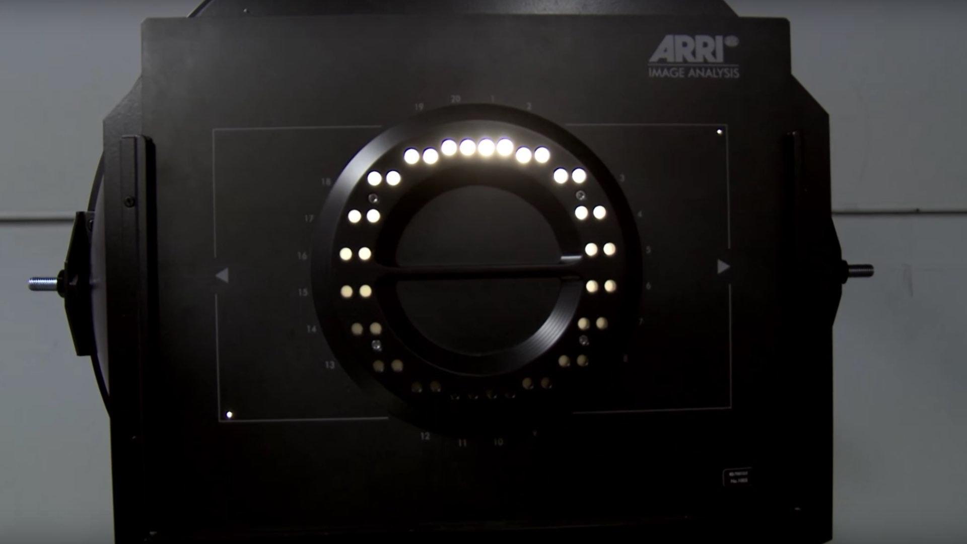 ARRI Dynamic Range Test Chart DRTC