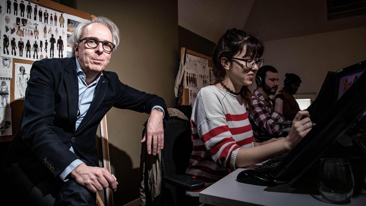 ric Goossens est à la tête de la société Walking The Dog et également vice-président de l'union professionnelle anim.be, qui regroupe les professionnels du secteur de l'animation.