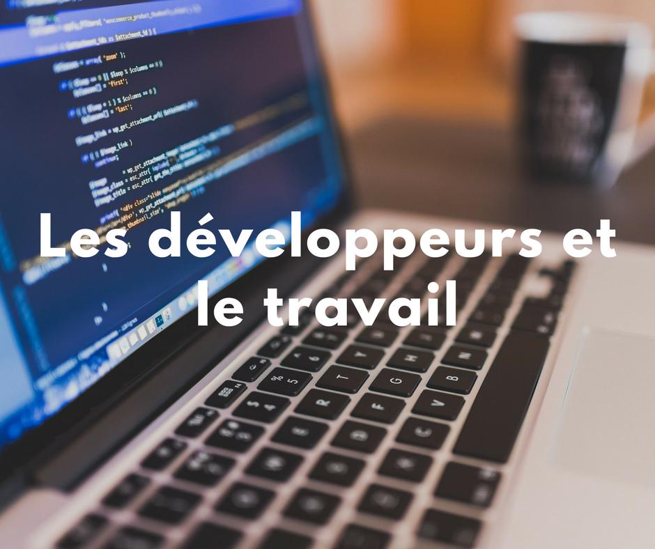 Les développeurs et le travail