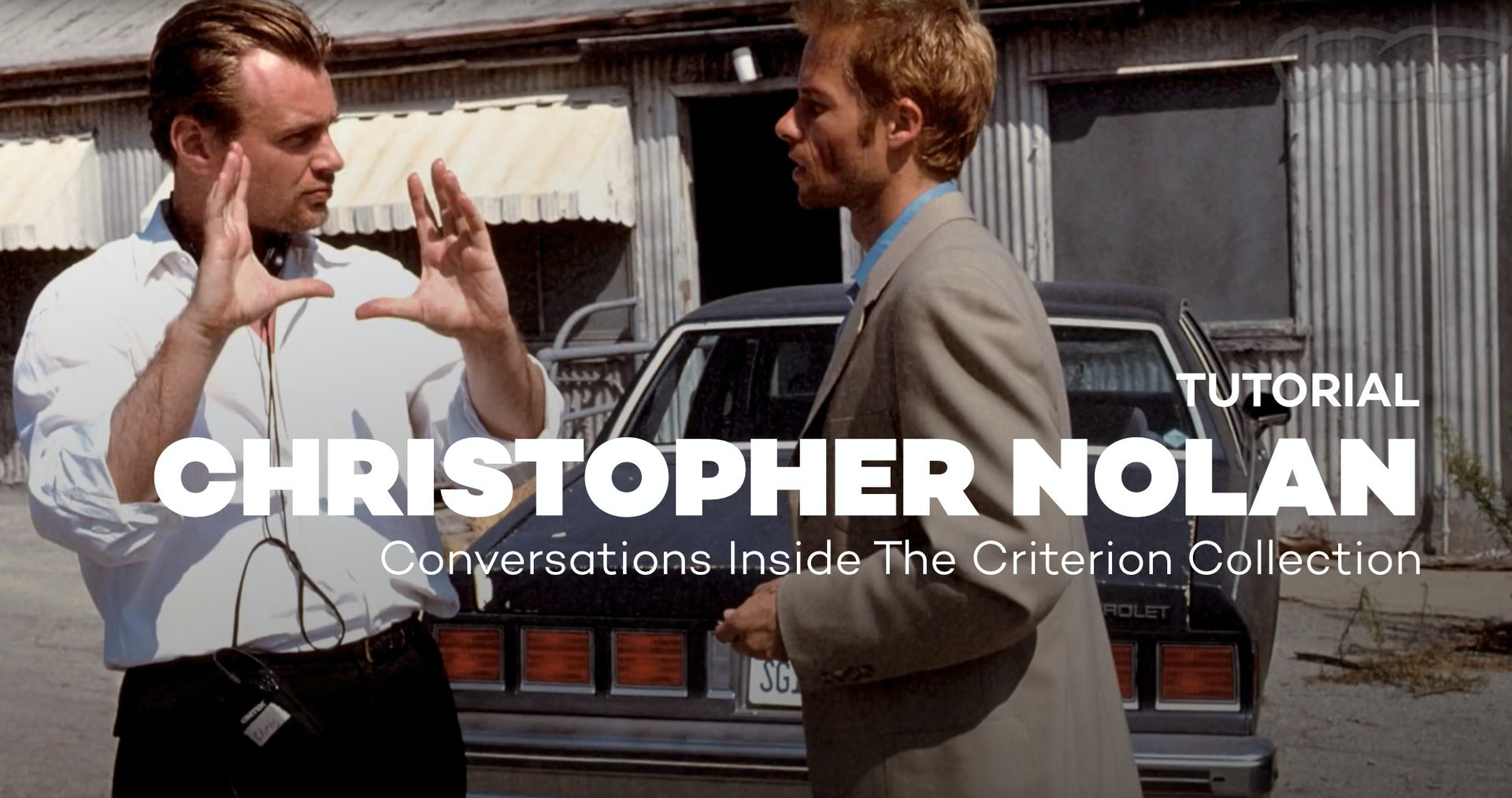 """Christopher Nolan on """"Following"""" - Conversations Inside The Criterion Collection"""