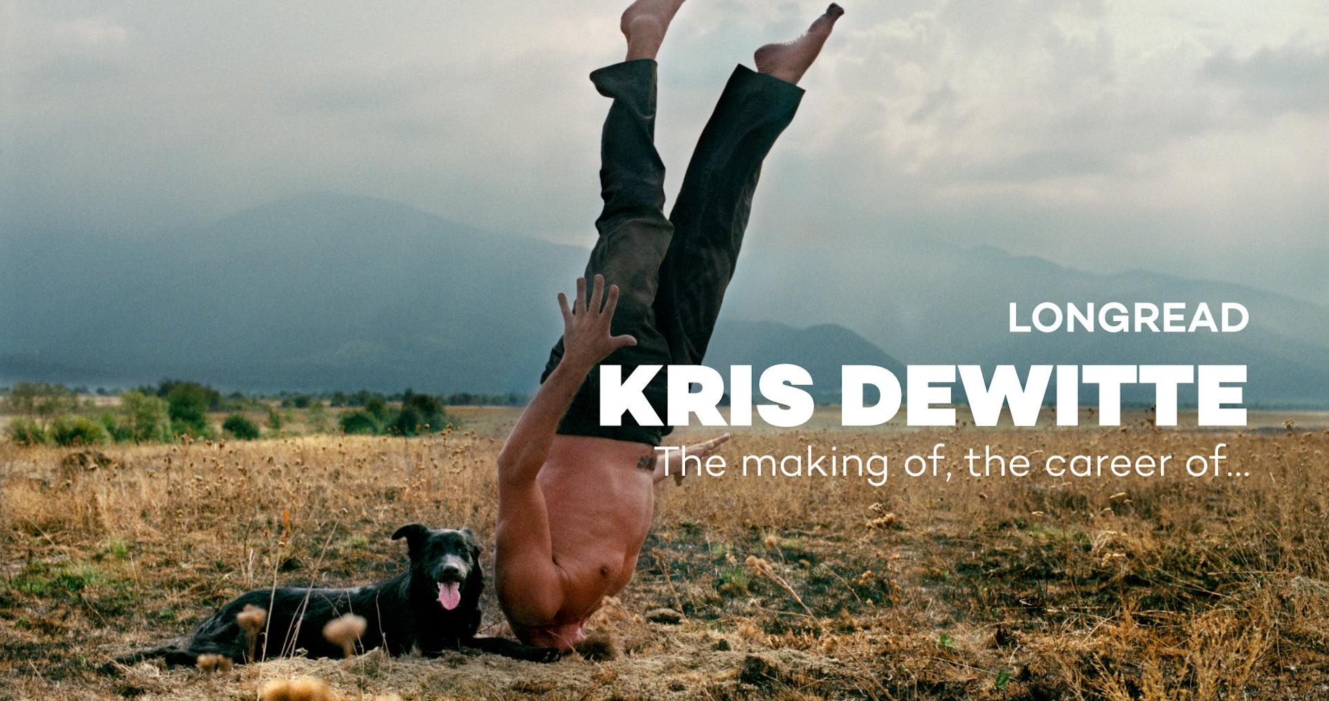 Drift The making of Kris Dewitte