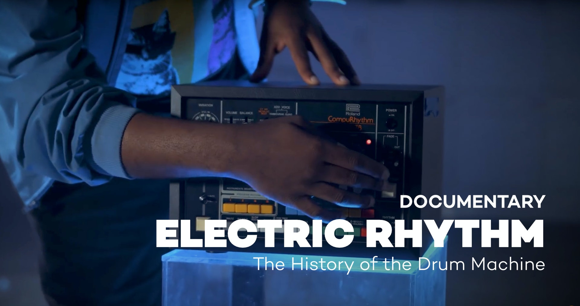The History of the Drum Machine
