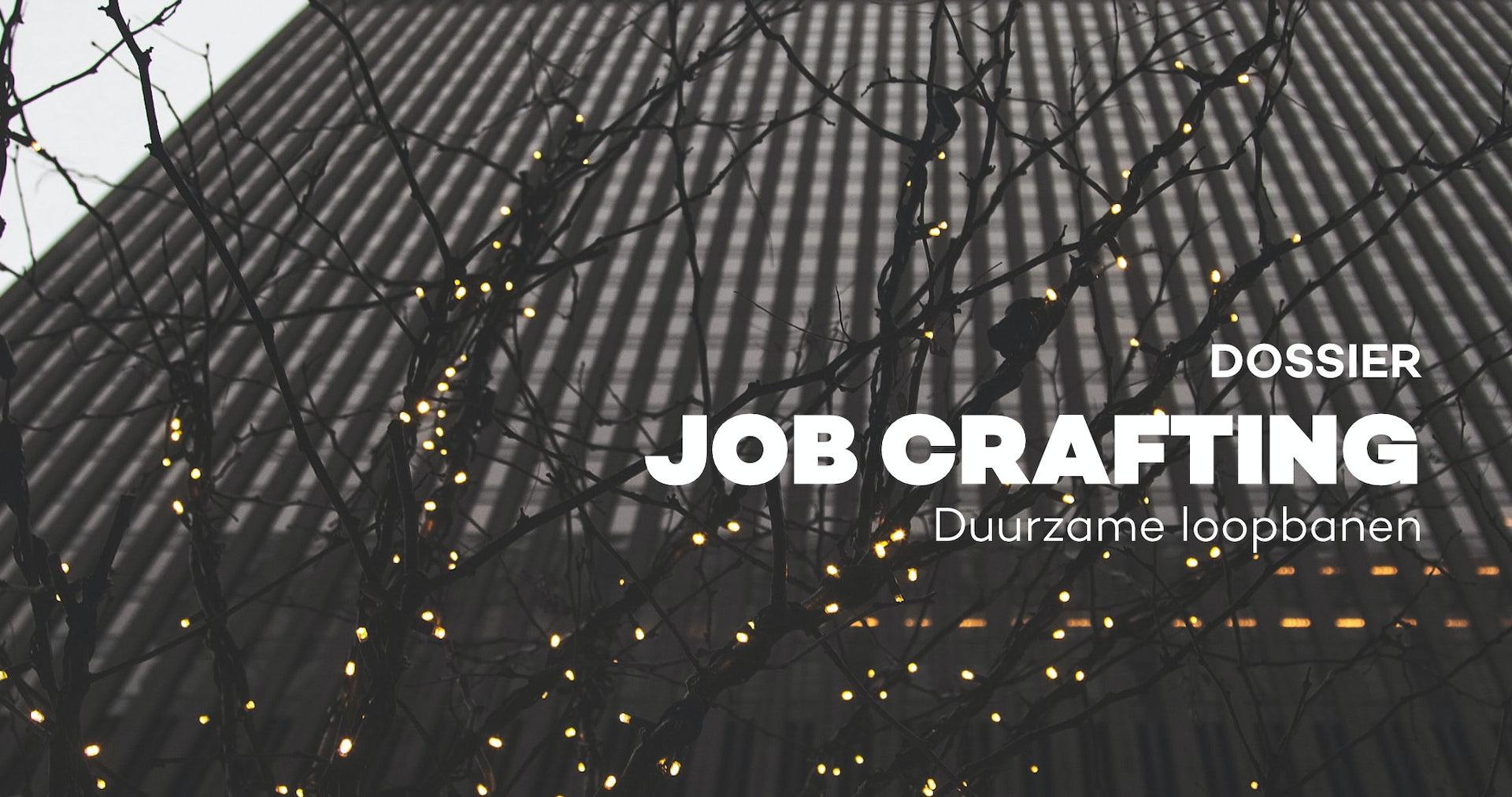 Job crafting. Maak van de job die je hebt, de job die je wil!