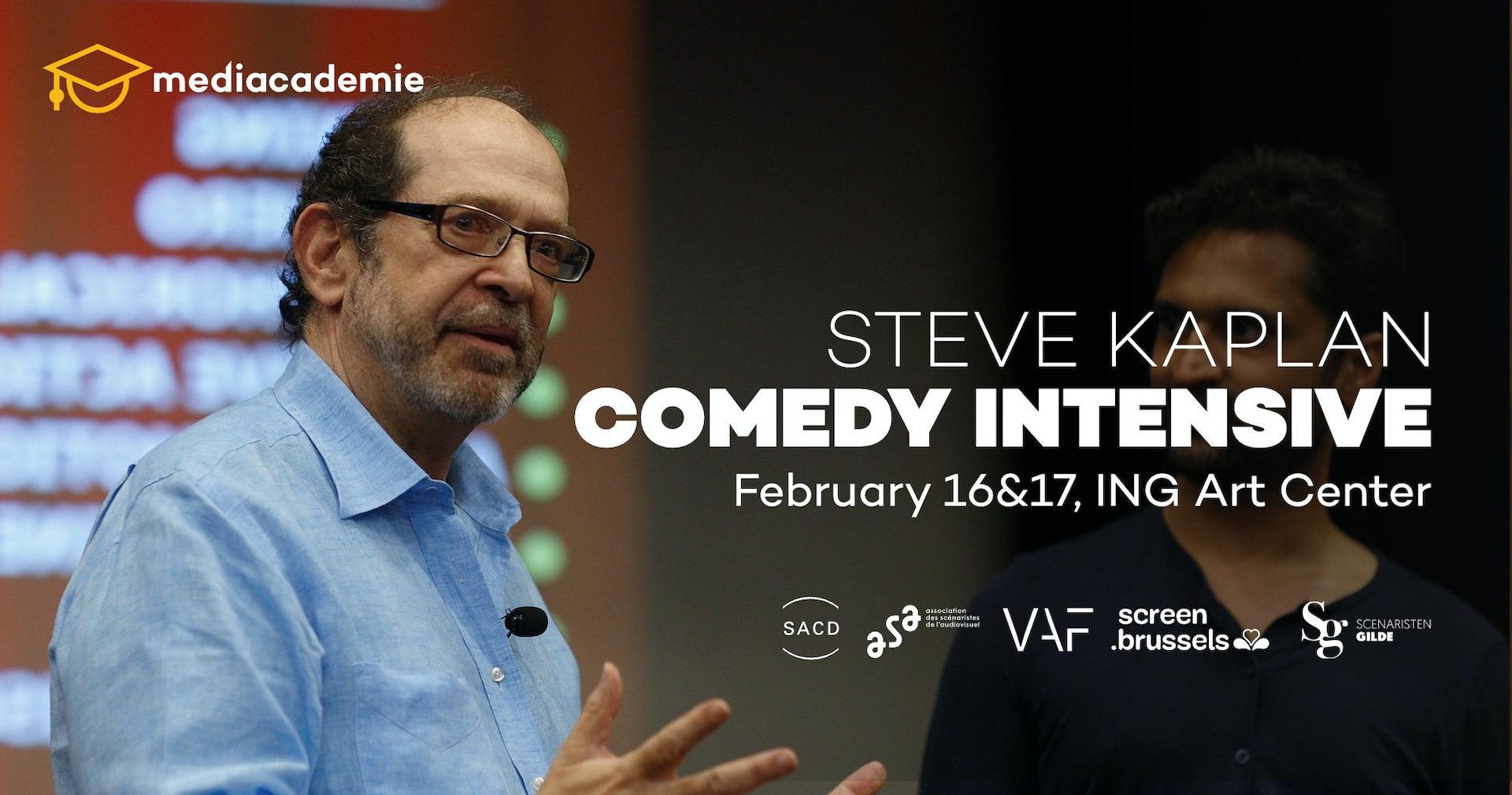 Steve Kaplan comedy intensive masterclass