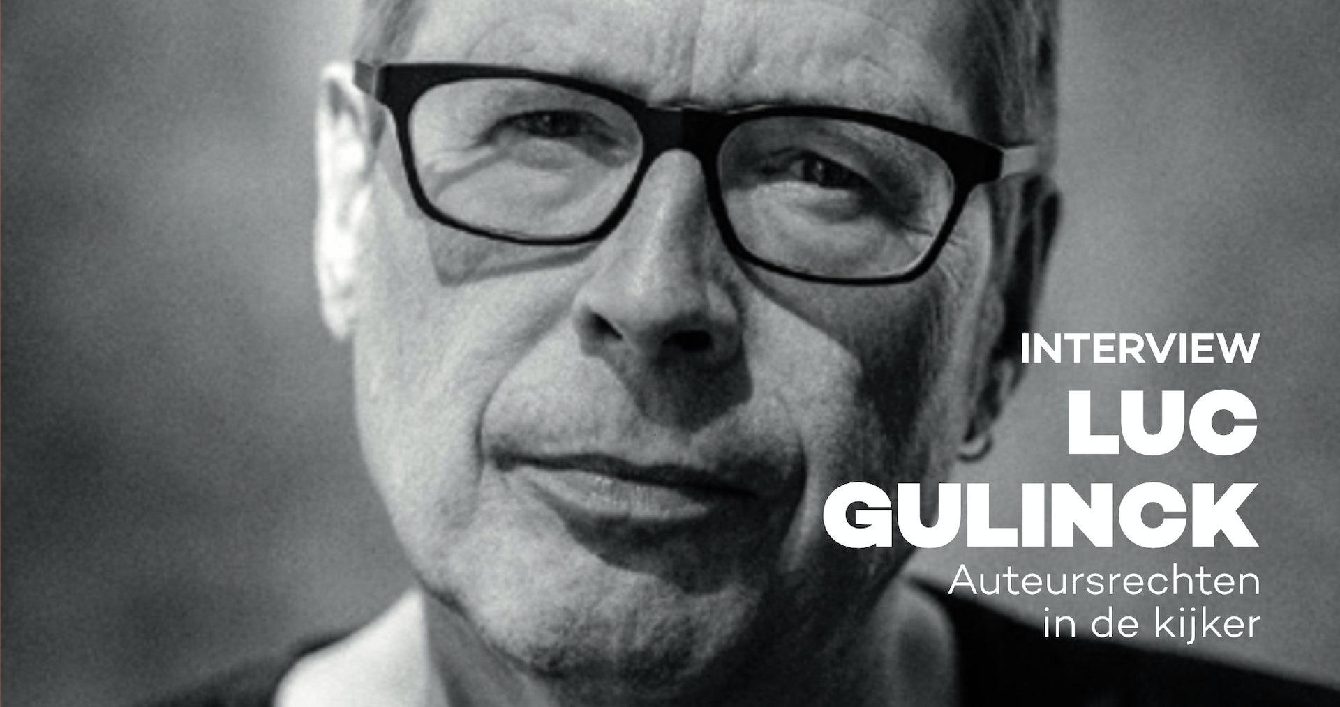 Interview Luc Gulinck - Les droits des auteurs dans l'actualité