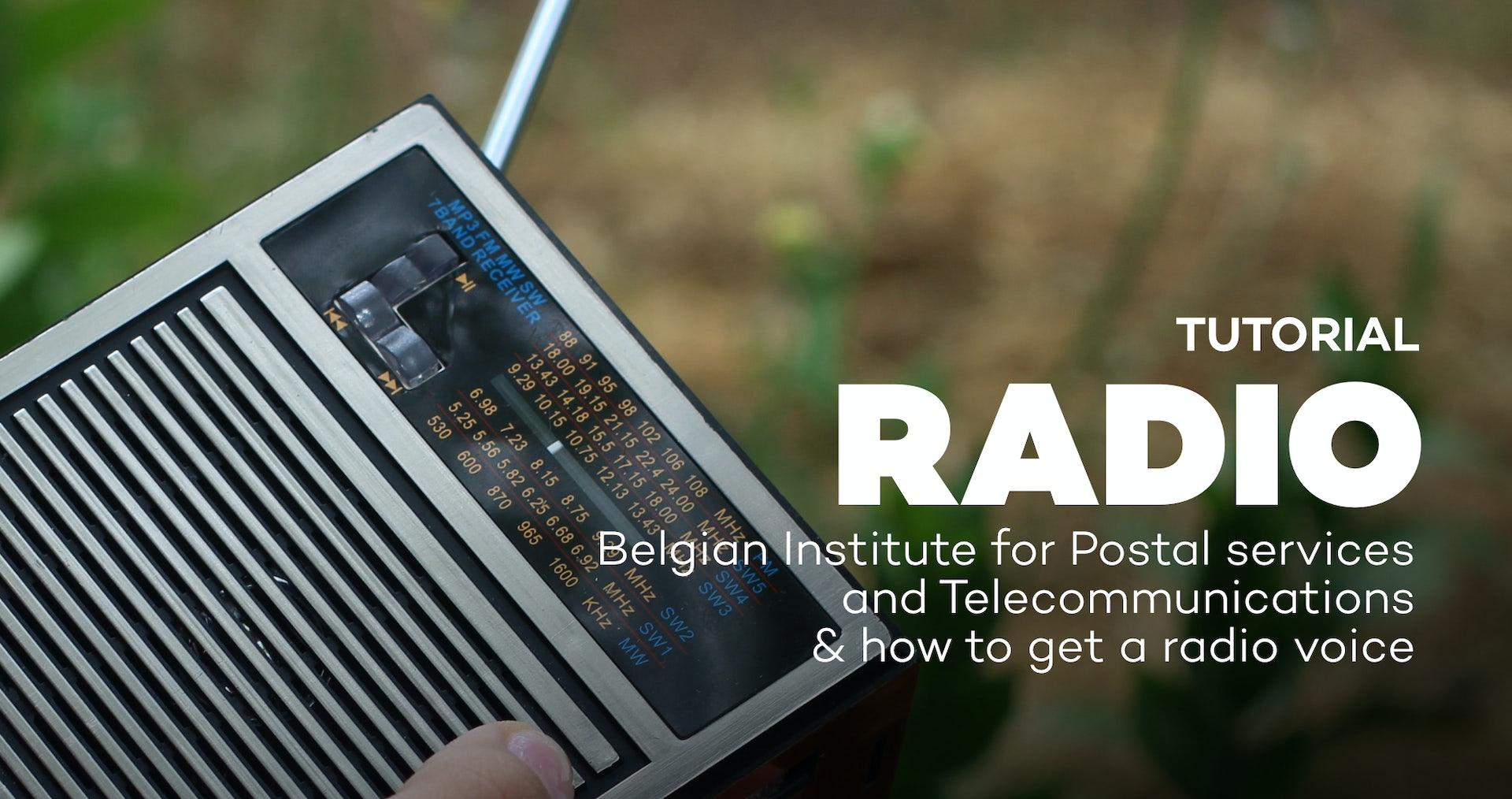 Belgian radio & how to get a radio voice