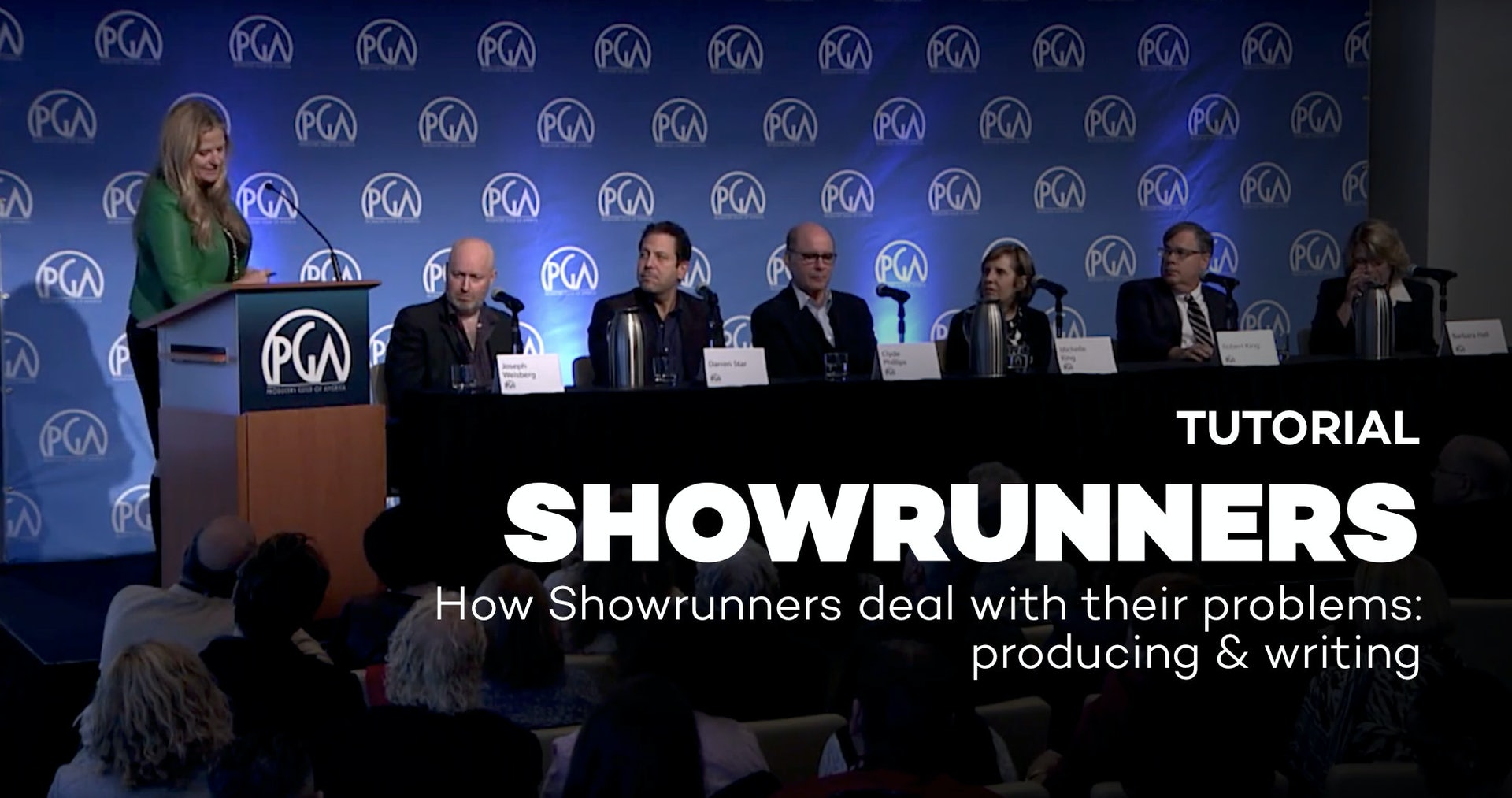 How Showrunners deal with their problems: producing & writing