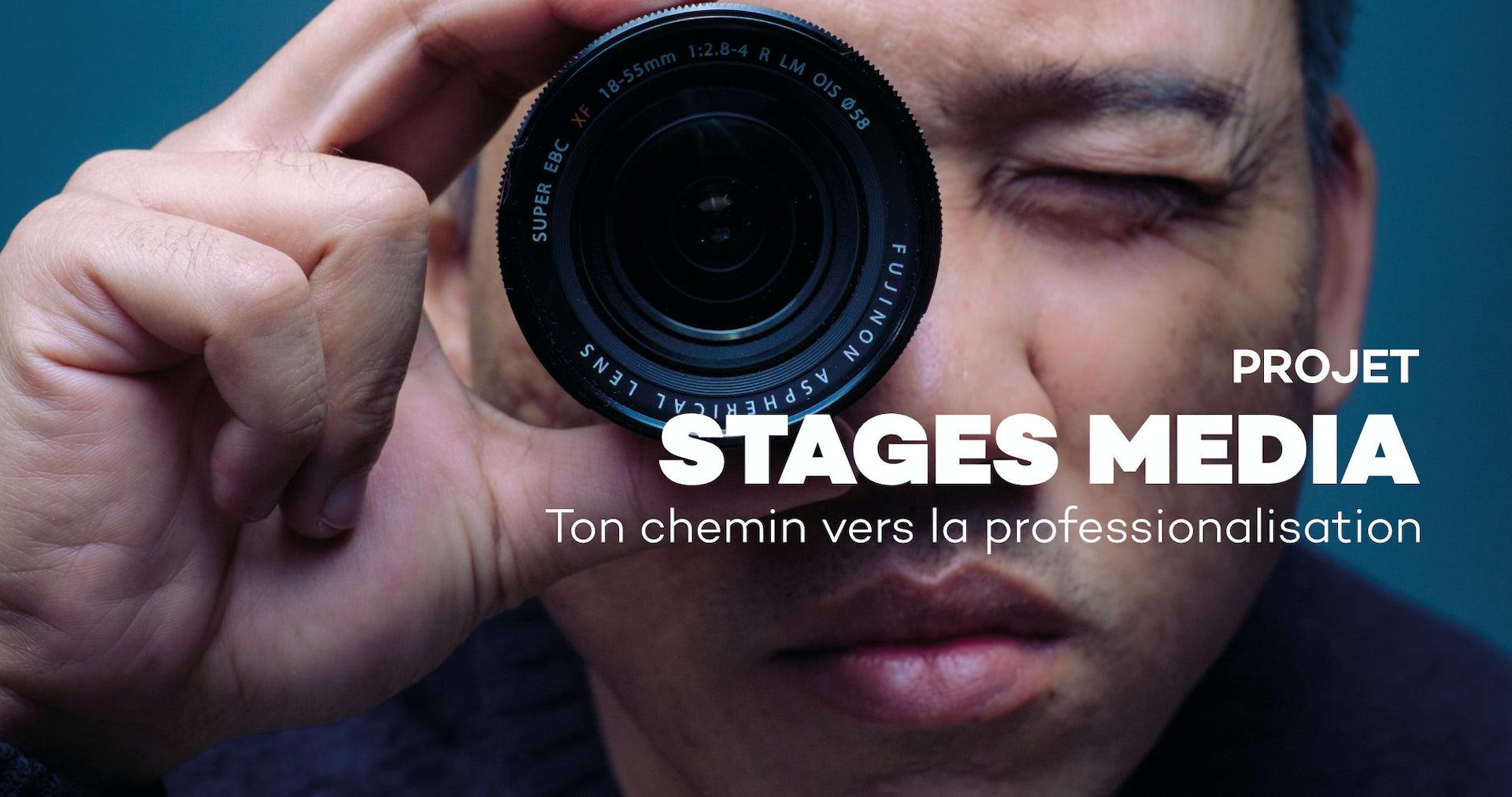 stages média