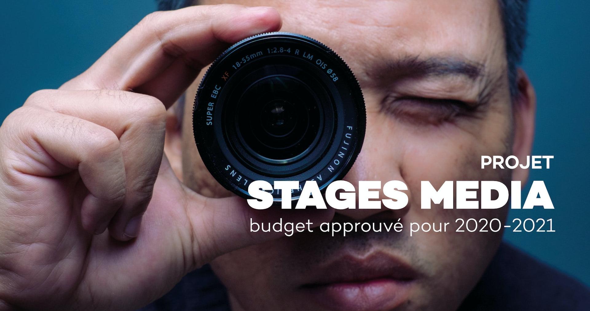 Le projet stages média