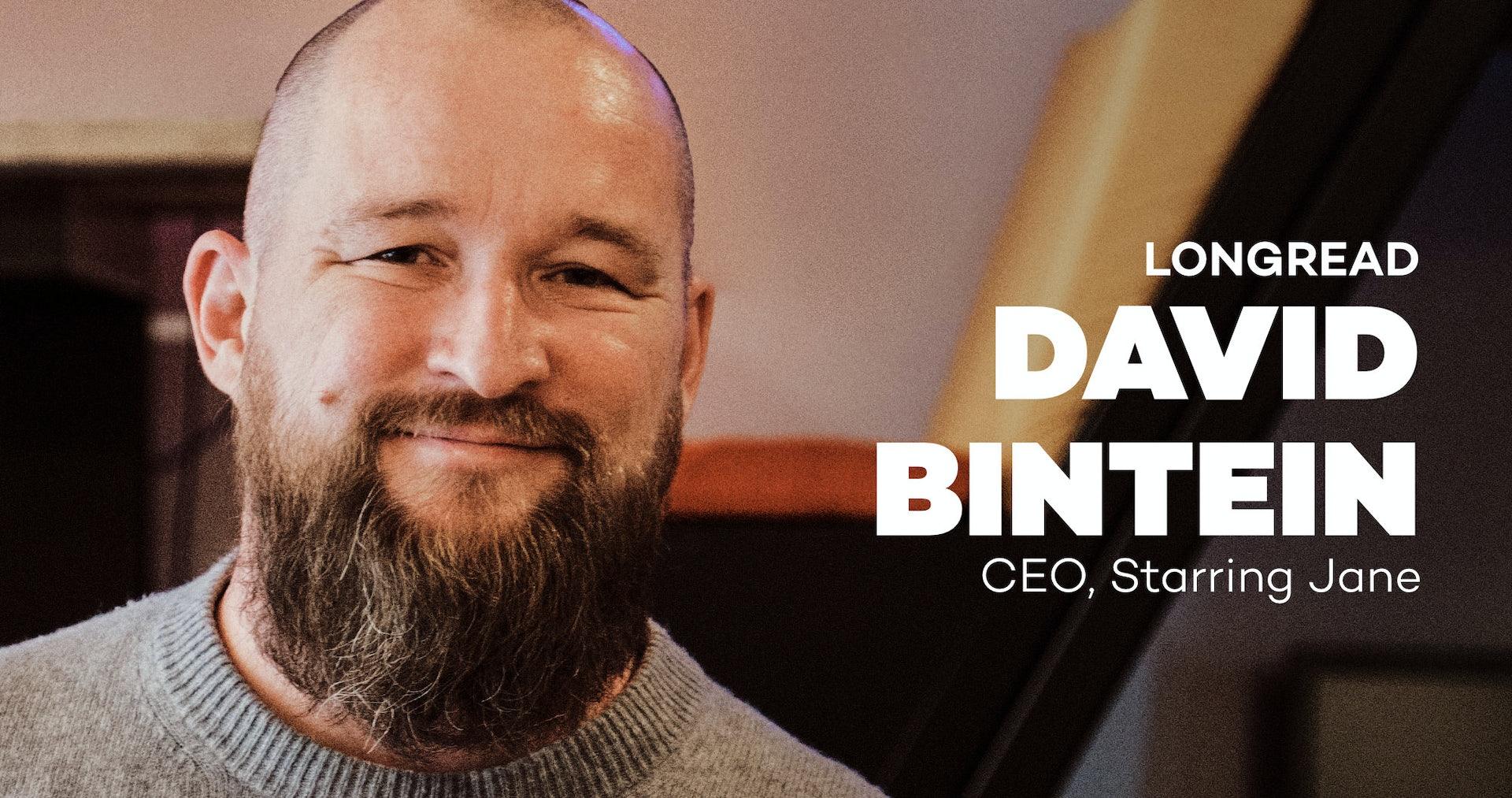 Interview met David Bintein • CEO, Starring Jane