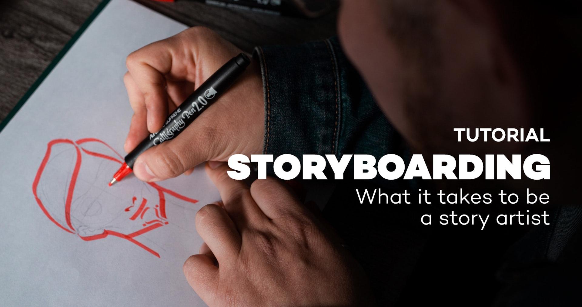 tuto storyboarder
