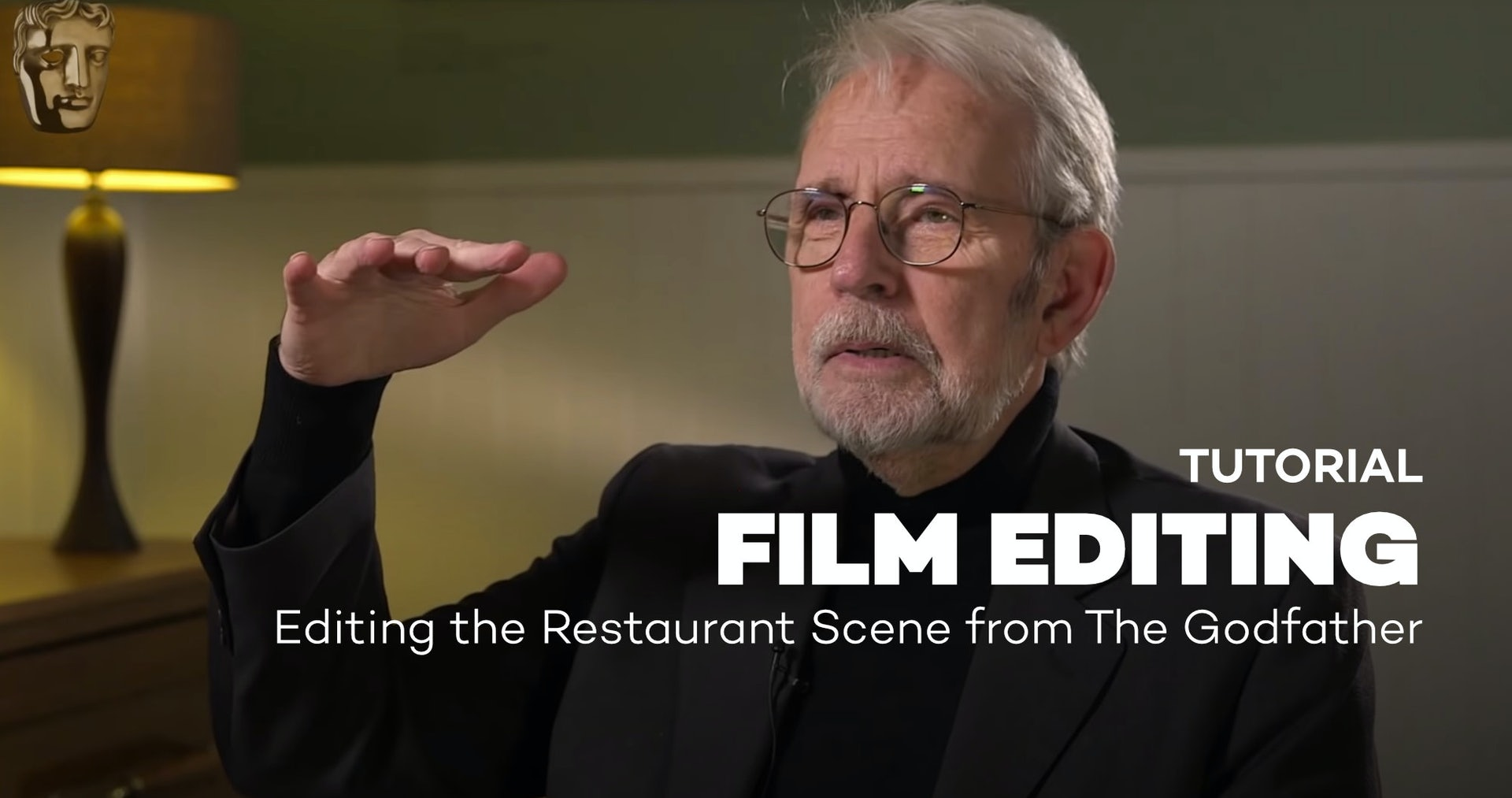 Walter Murch on Editing the Restaurant Scene from The Godfather