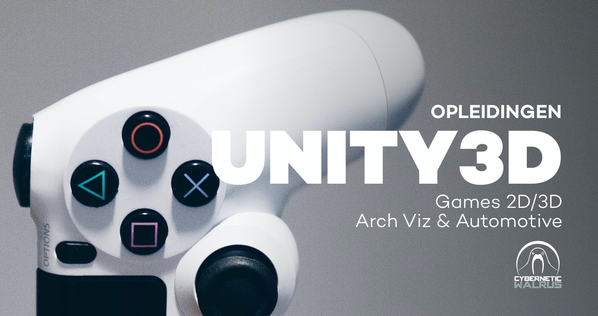 Officiële Unity Authorized trainingen met Cybernetic Walrus en
